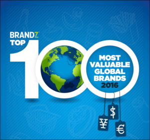 BrandZ Top 100 Most Valuable Global Brands 2016