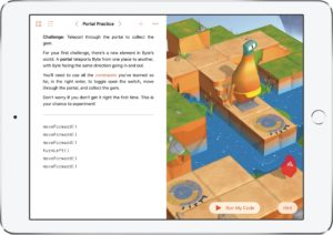 App Swift Playgrounds no iPad