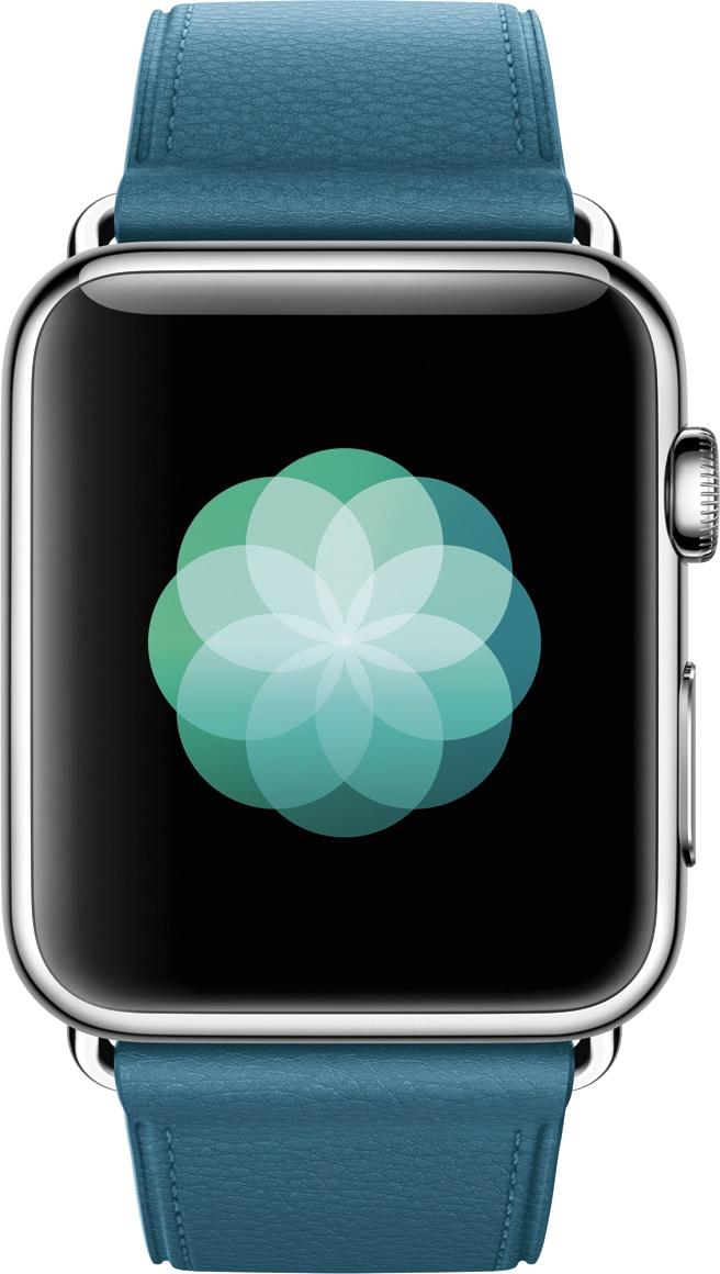 Breathe do watchOS 3 rodando num Apple Watch