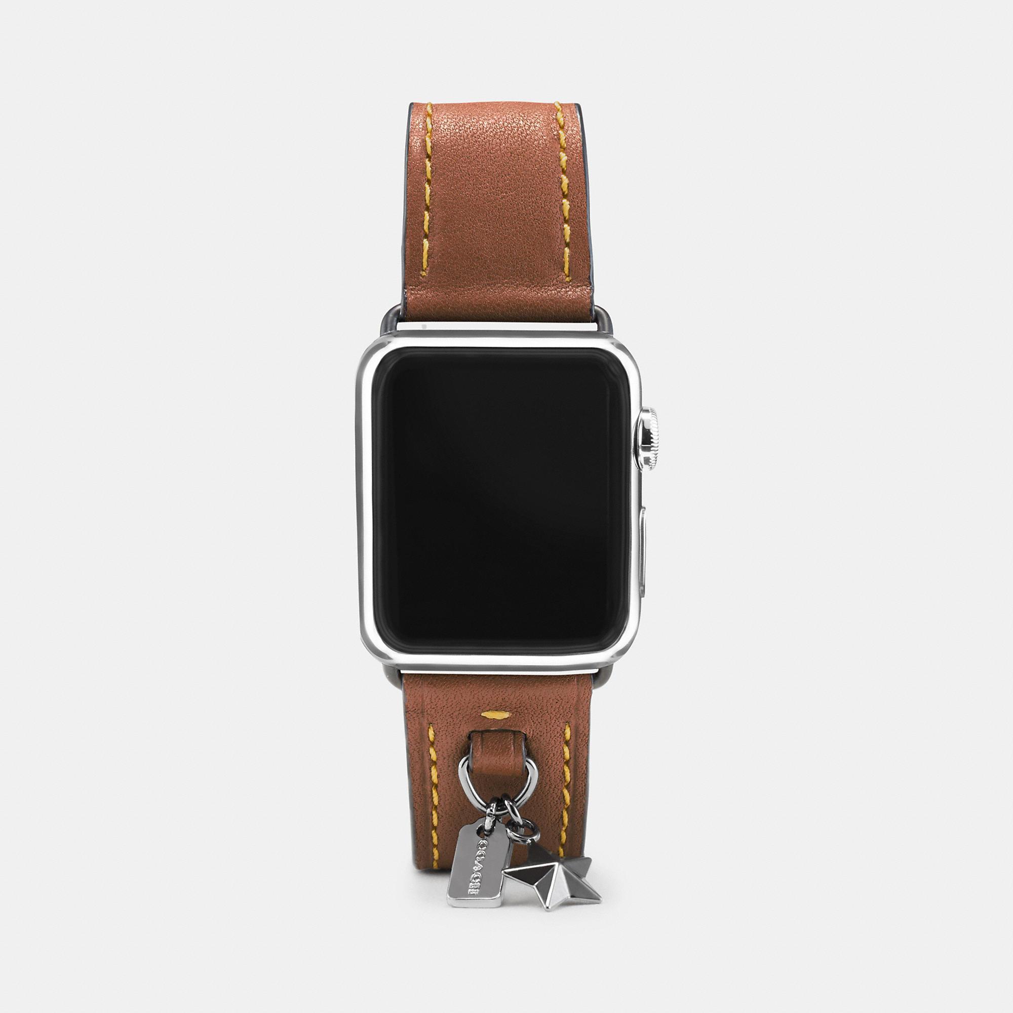 Pulseira da Coach para o Apple Watch