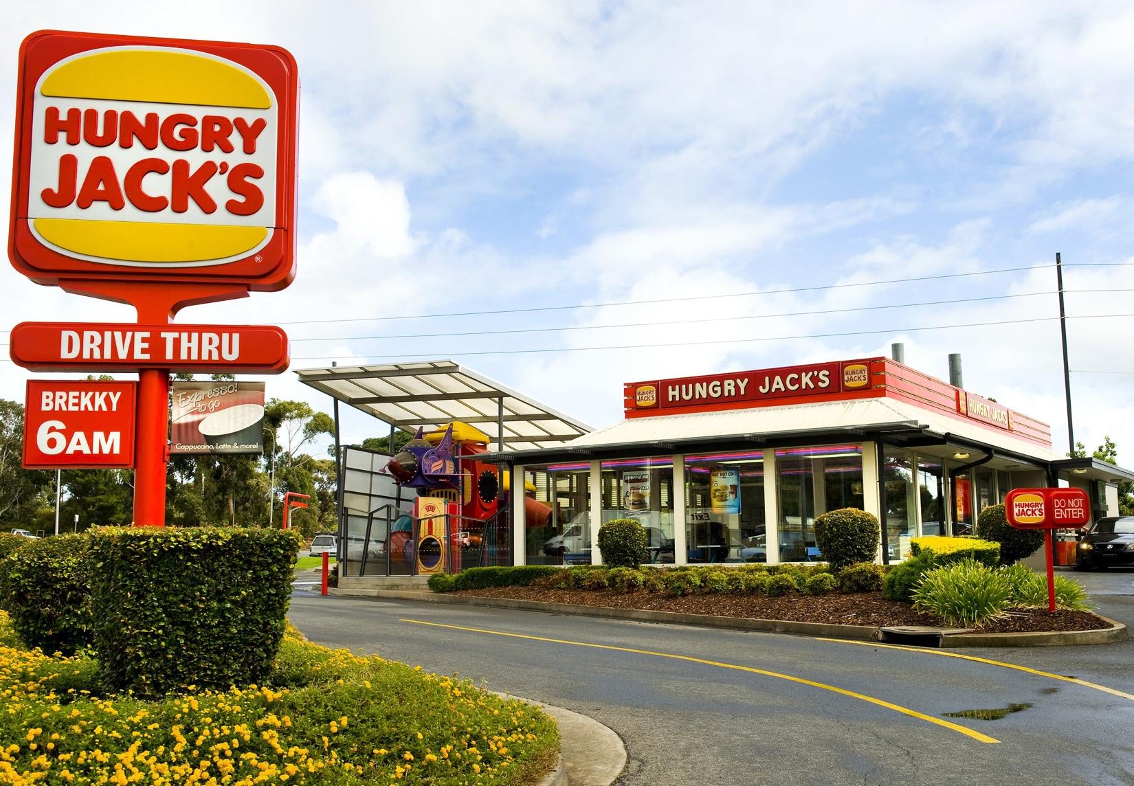 Hungry Jack's, o Burger King da Austrália