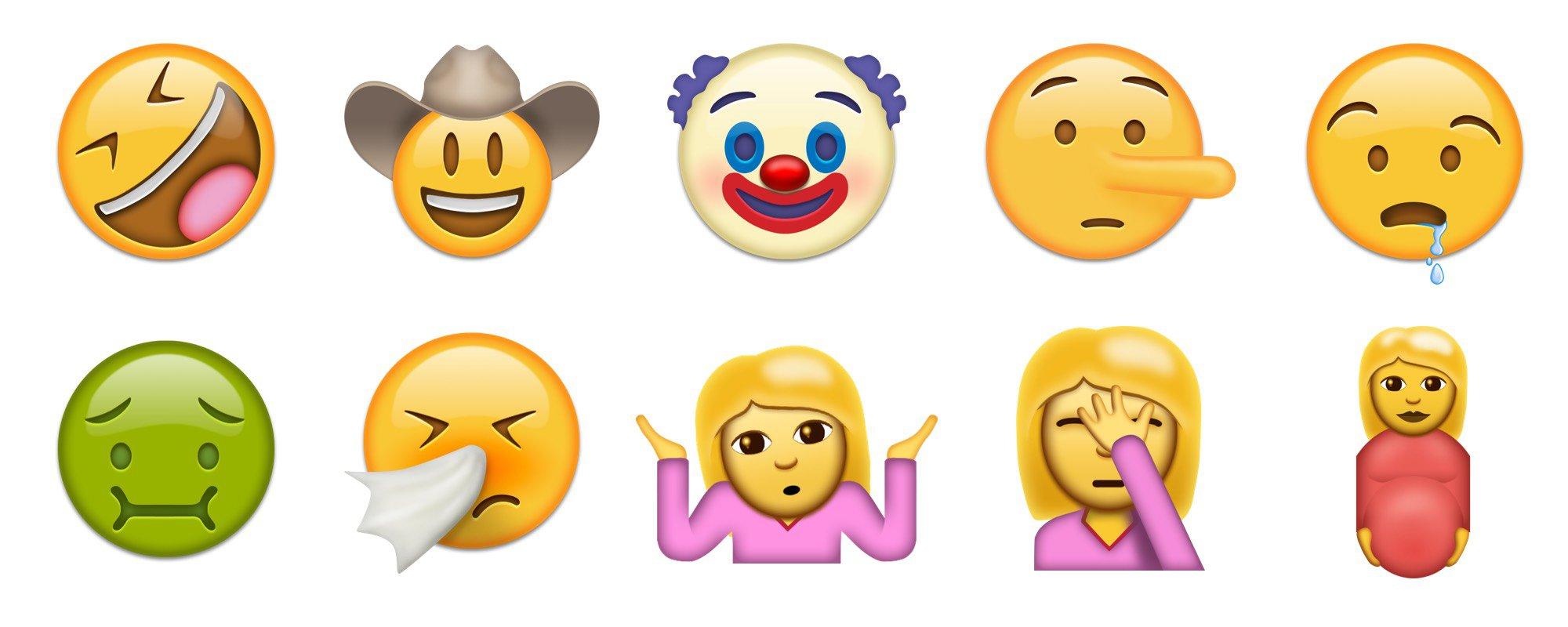 Novos Emojis que poderão chegar ao iOS 10