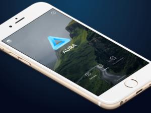 App AURA para iOS