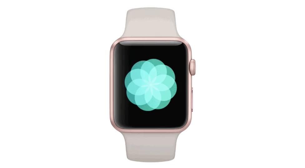 """App """"Respire"""" pro Apple Watch"""