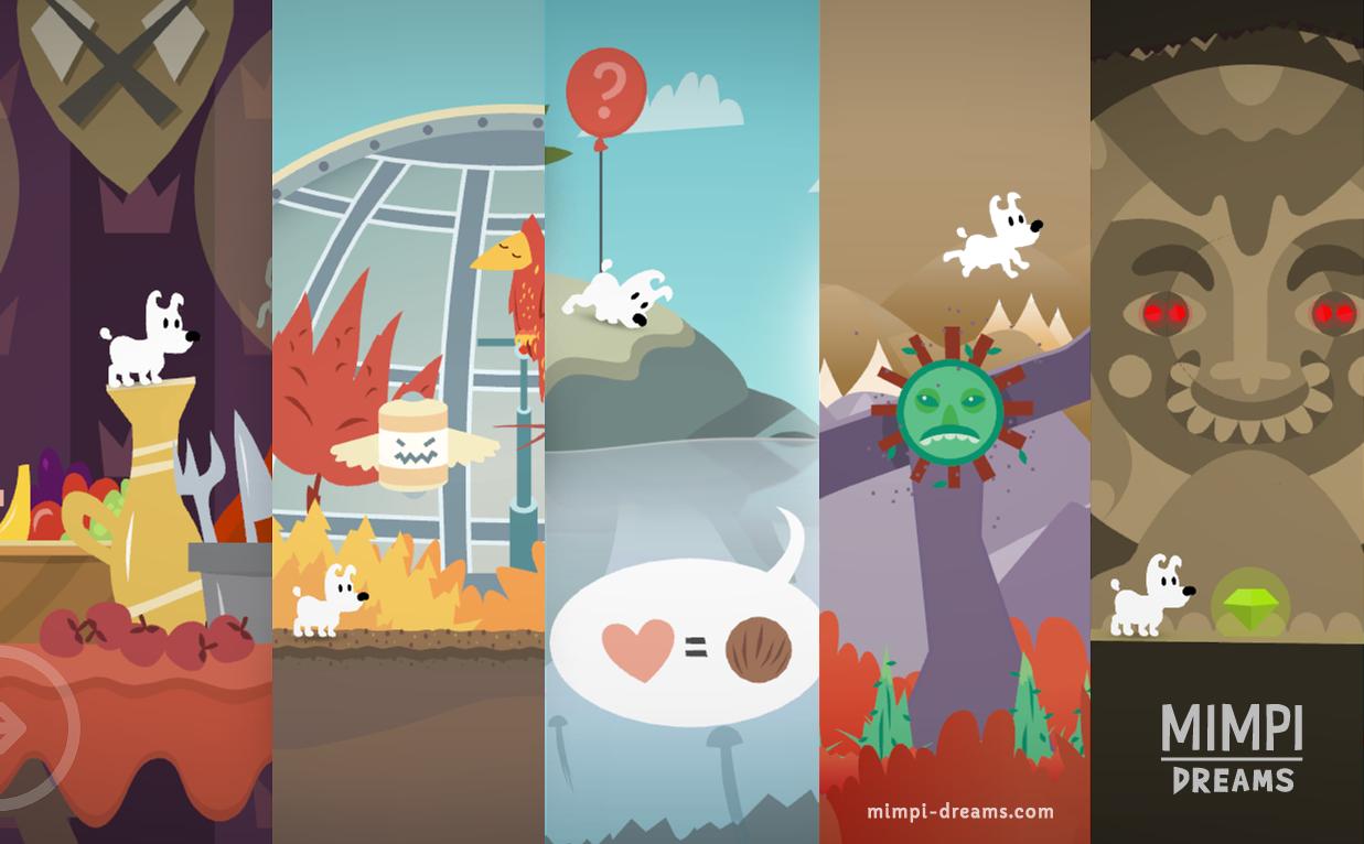 Jogo Mimpi Dreams para iOS, watchOS e tvOS