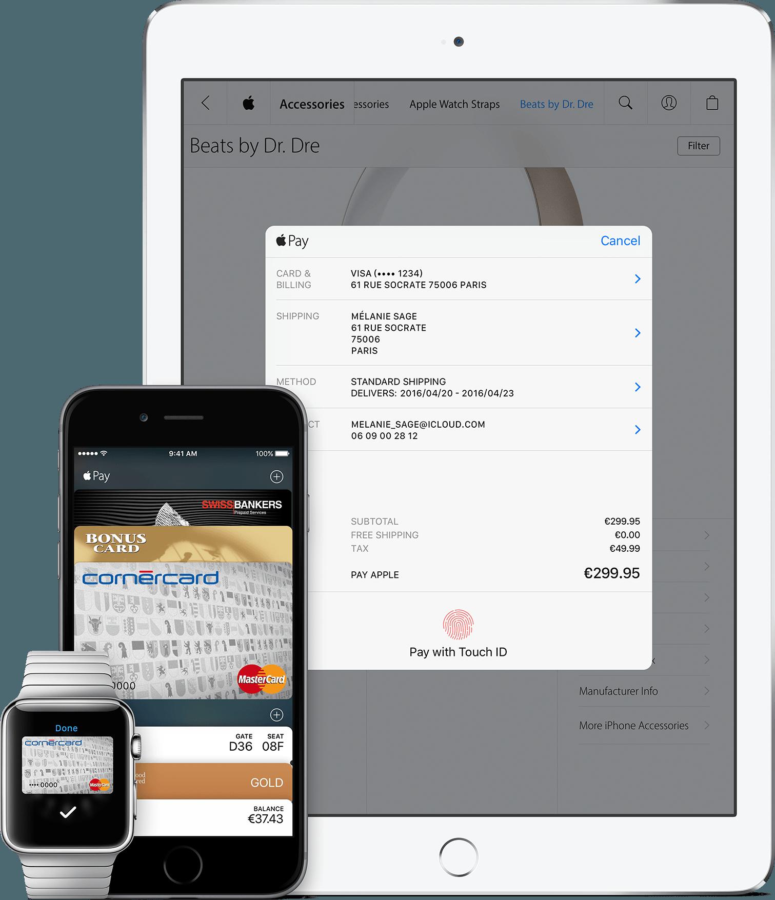 Apple Pay na Suíça
