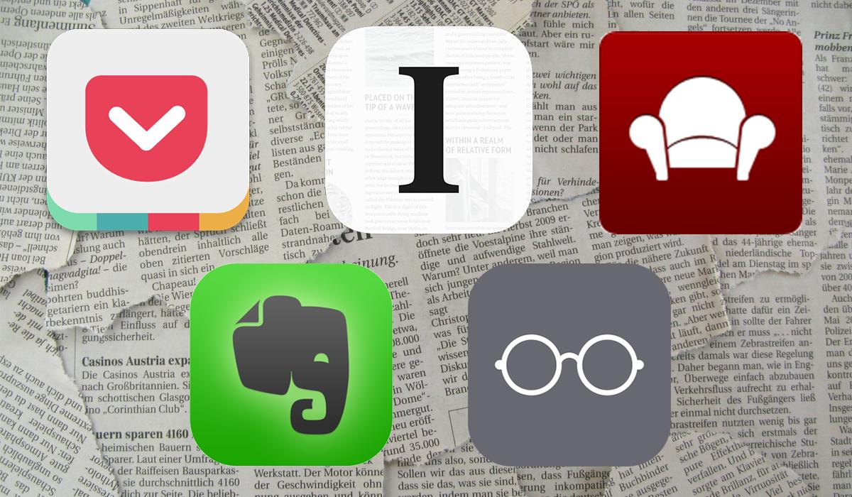 Comparativo dos apps de leitura