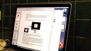 Mesclando PDFs no Pré-Visualização do OS X