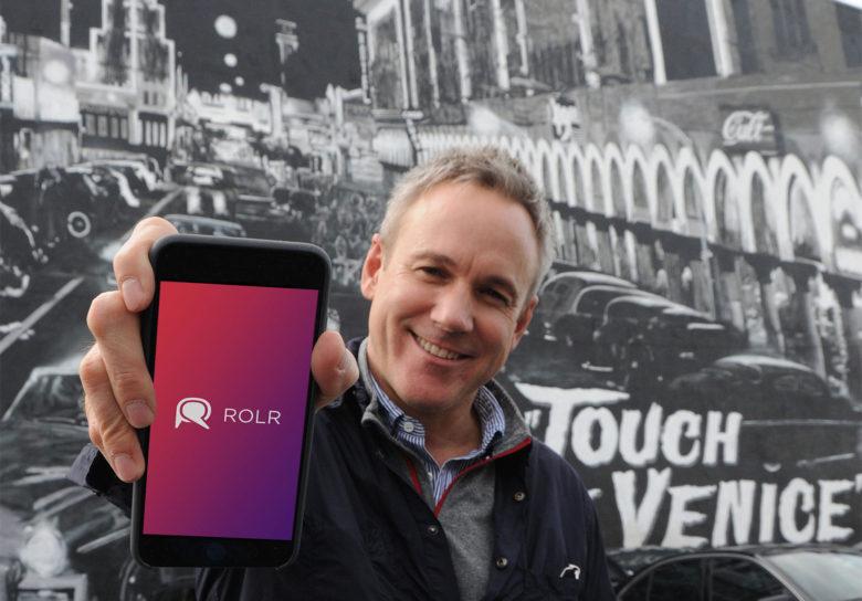 Aplicativo ROLR para iPhone
