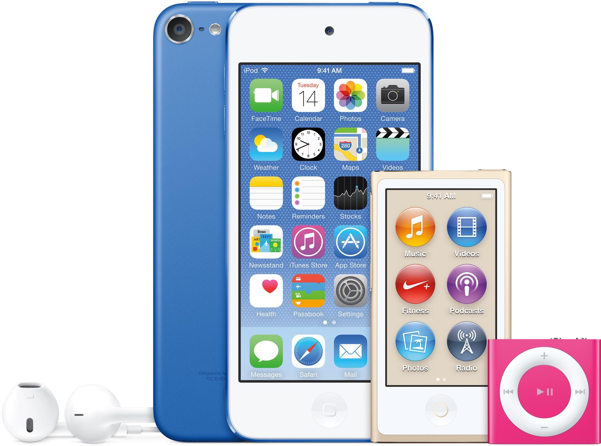 Família de iPods