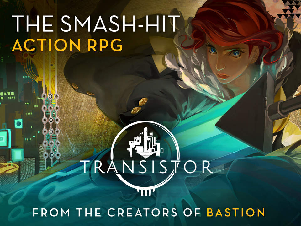 Jogo Transistor para iOS e tvOS