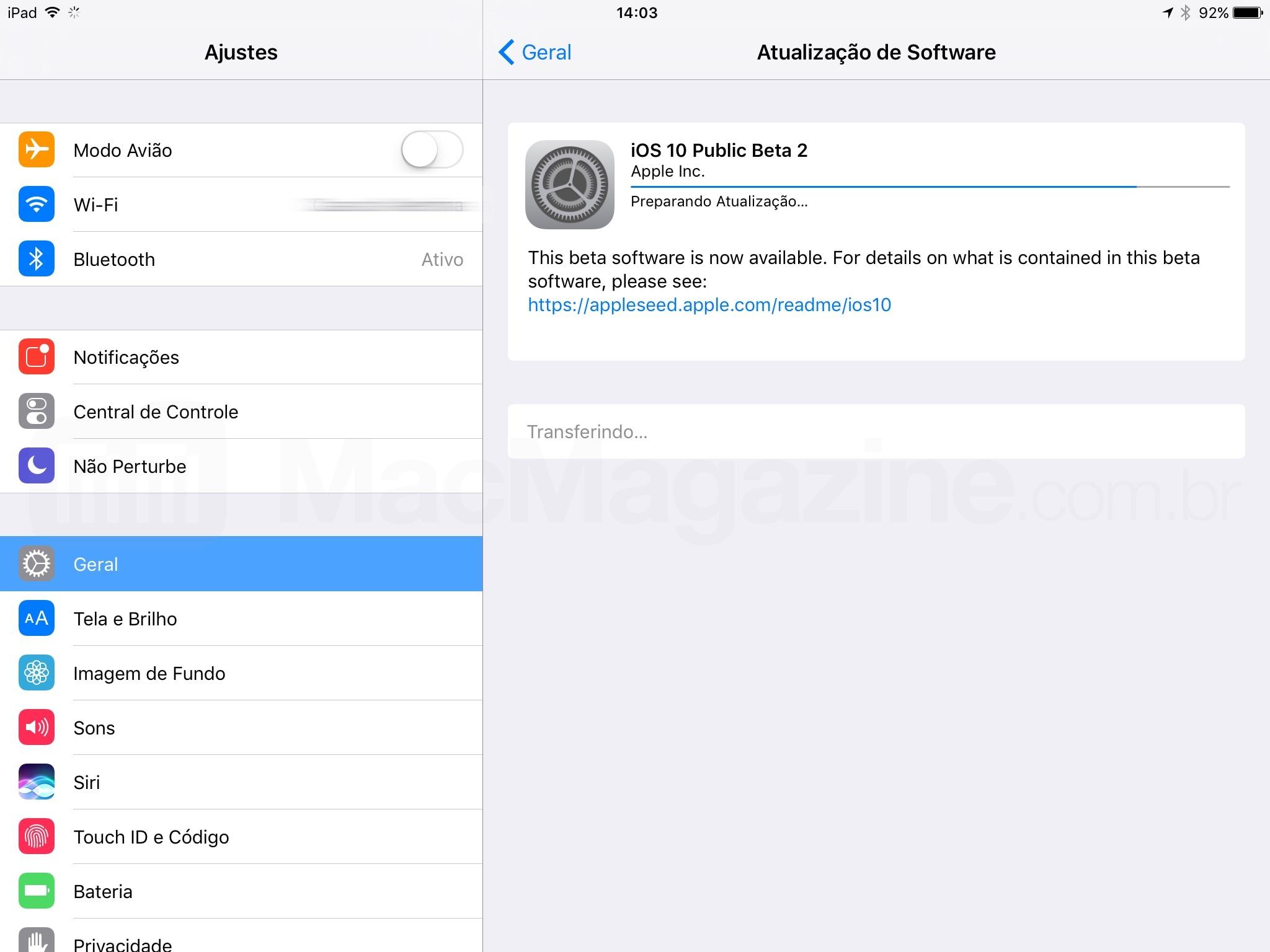 iOS 10 beta público