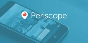 Banner do Periscope