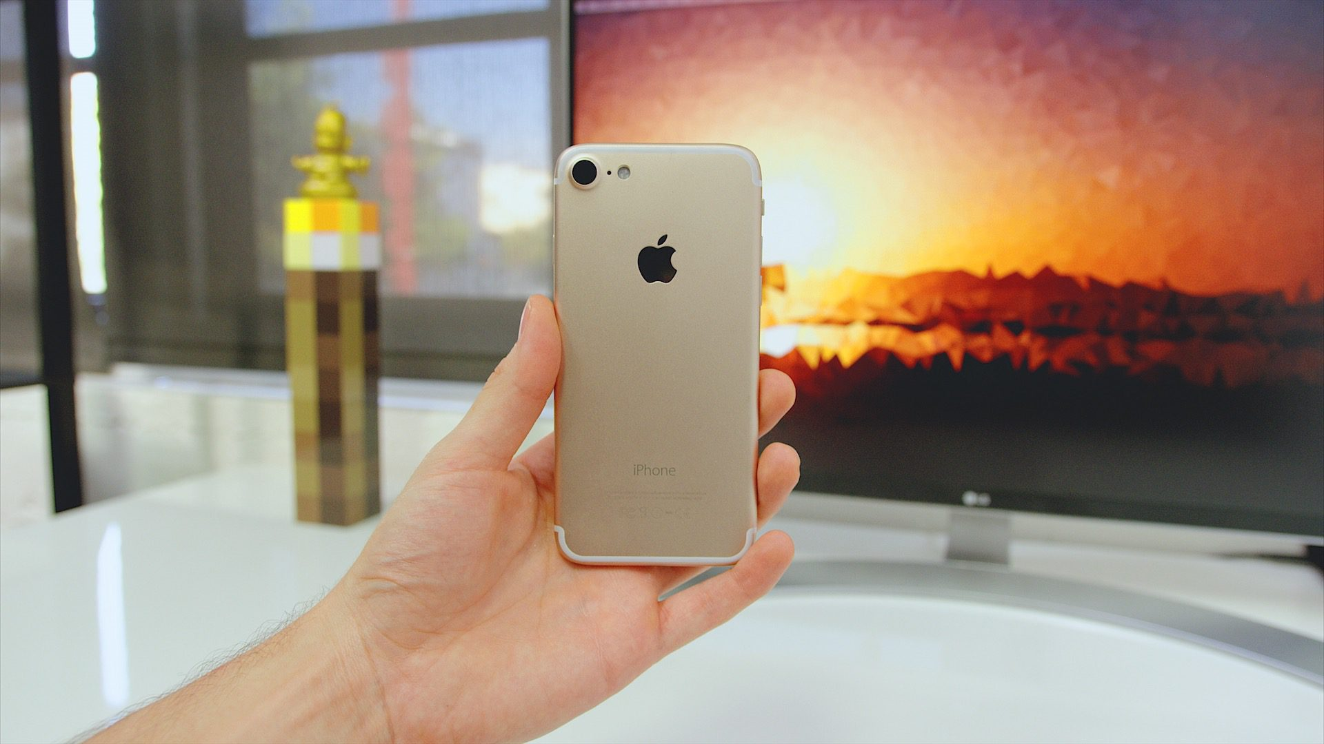 """Clone do """"iPhone 7"""""""