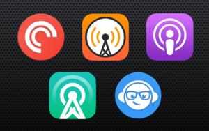 Comparativo de apps de Podcast