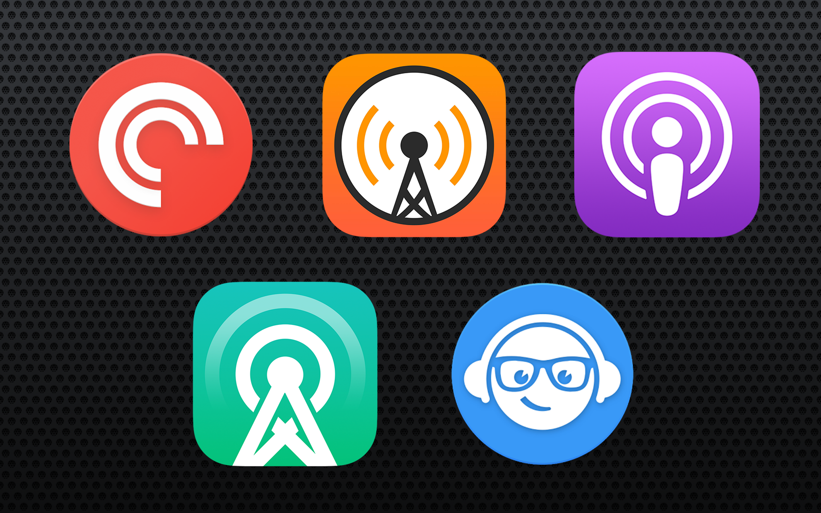 Comparativo de apps de Podcast