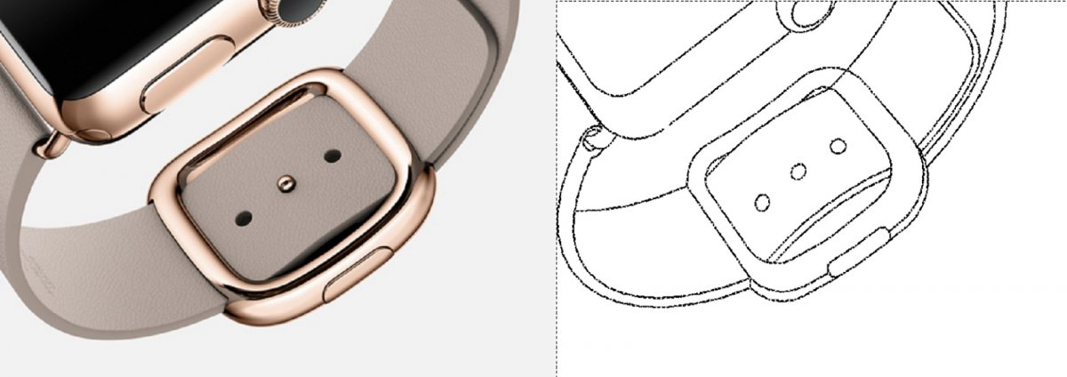 Samsung Apple Watch Patente