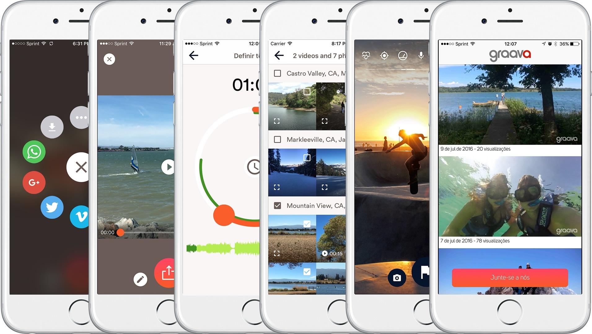 App Graava para iOS