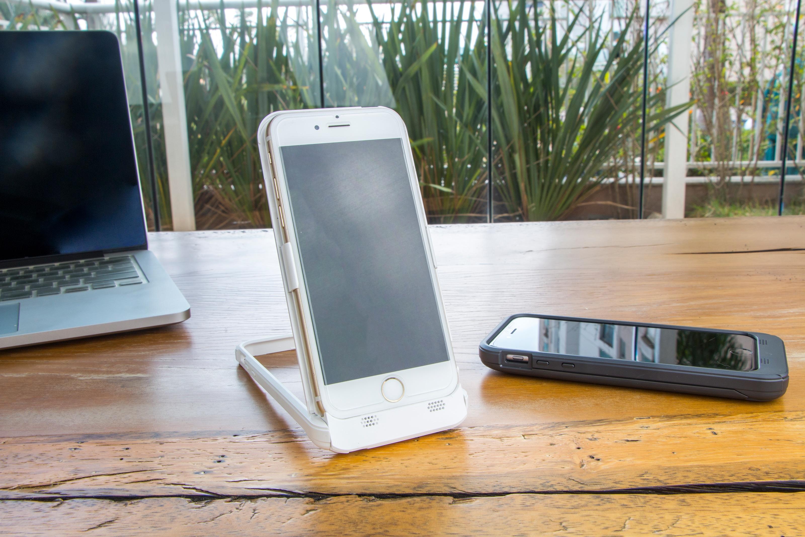 Capa carregadora Power Stand para iPhones 6/6s, da ROCK