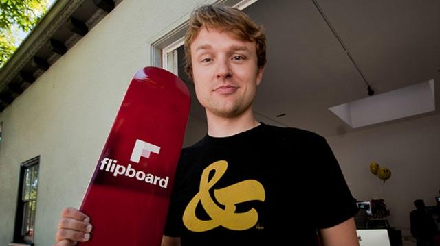 Evan Doll, cofundador do Flipboard