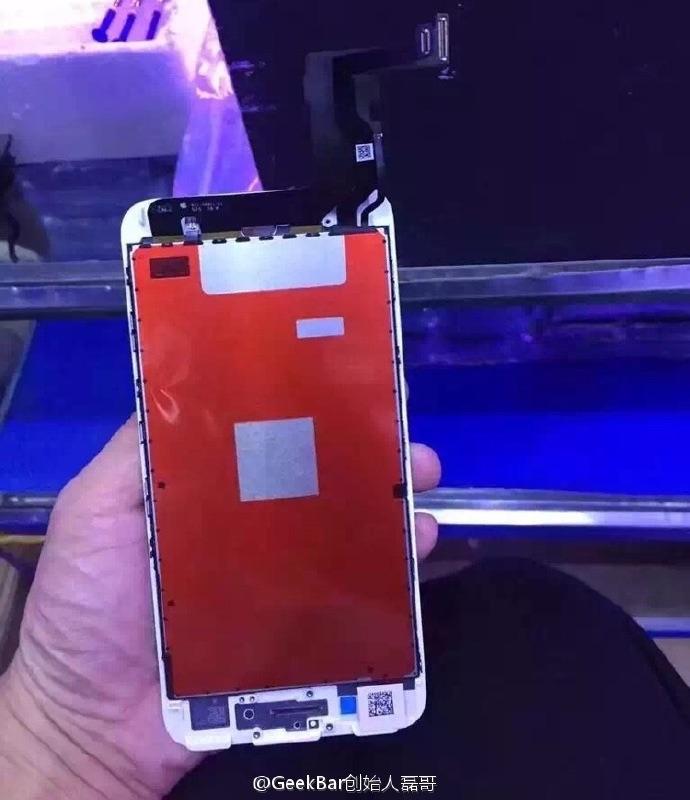 """Parte interna do suposto """"iPhone 7"""""""