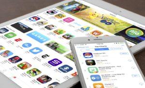 App Store em iPad e iPhone