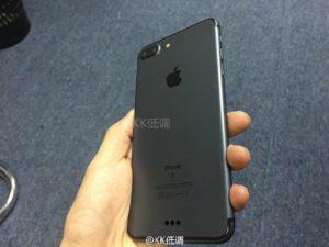 """Suposto """"iPhone 7"""" preto espacial"""