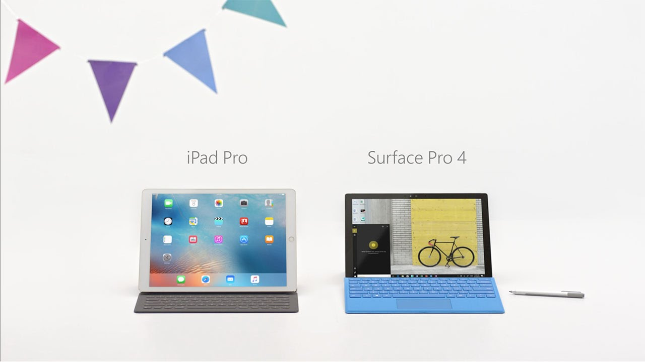 iPad vs. Surface (comercial)