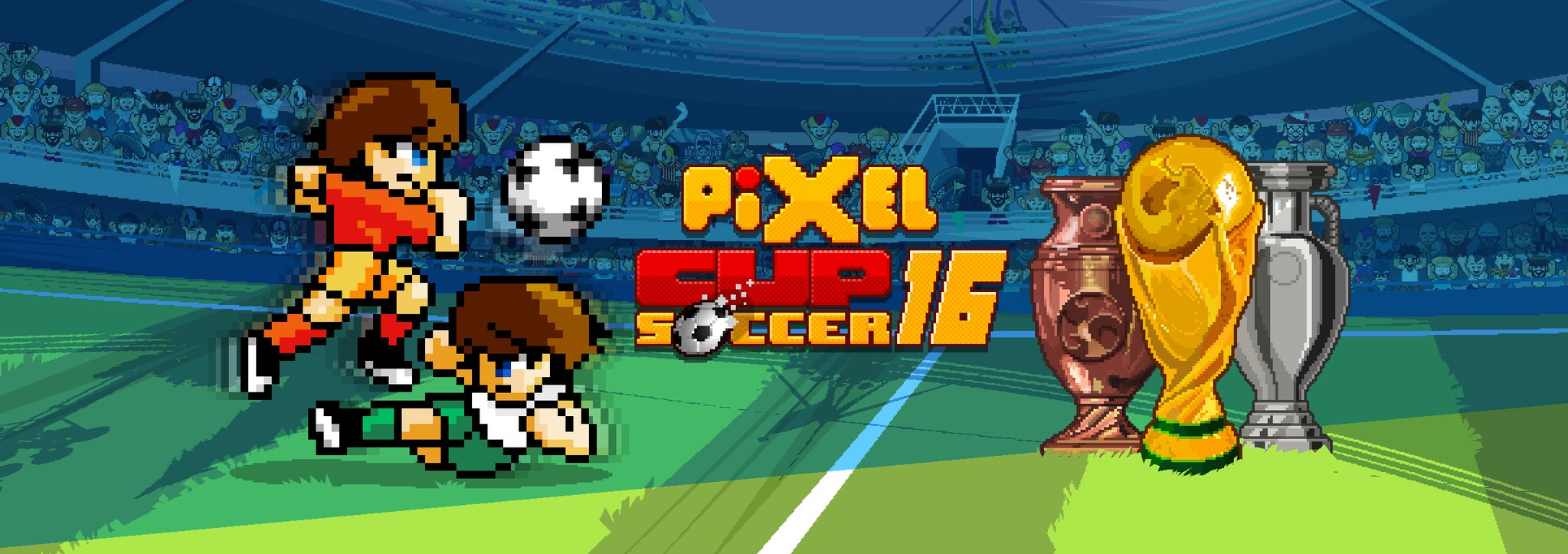 Jogo Pixel Cup Soccer 16