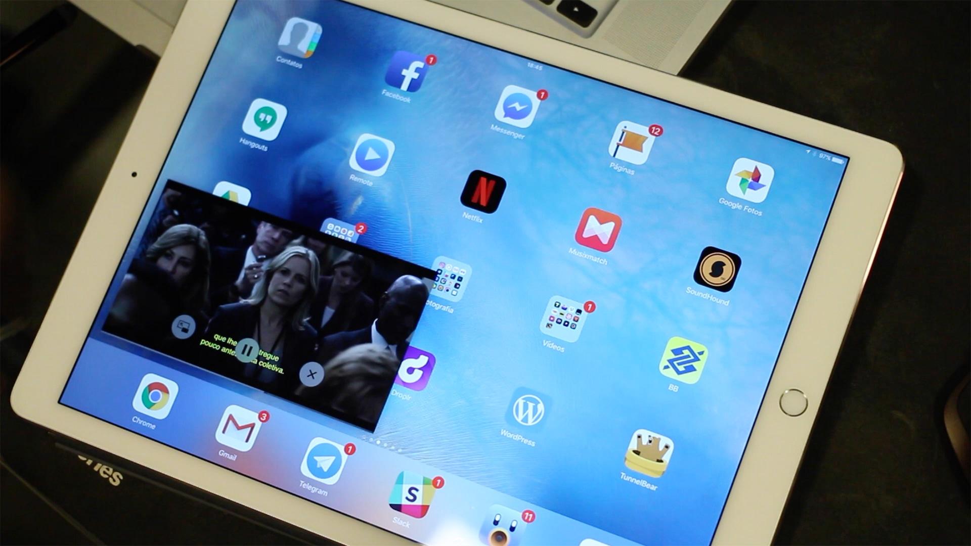 PiP no iPad