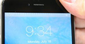 Problema nas telas dos iPhones 6 e 6 Plus