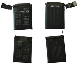 Suposta Bateria do Apple Watch 2