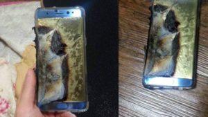 """Galaxy Note 7 """"explodido"""" após problema com bateria"""