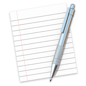 Ícone do app Editor de Texto