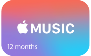 Apple Music Gift card cartão presente