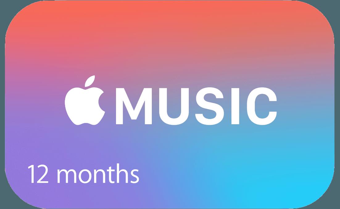 Apple Music Gift card cartão presente