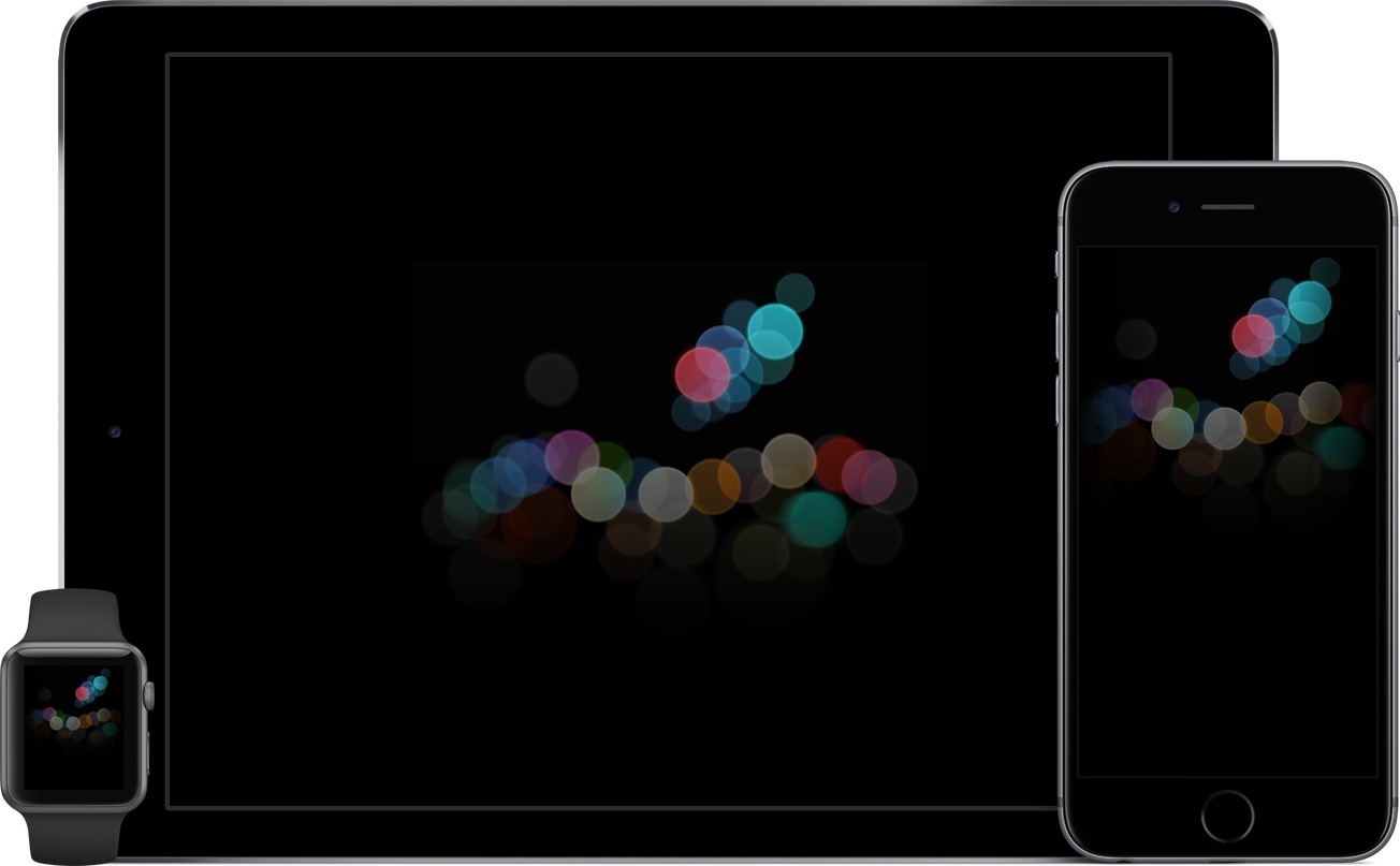 "Wallpapers do evento especial (""iPhone 7"")"