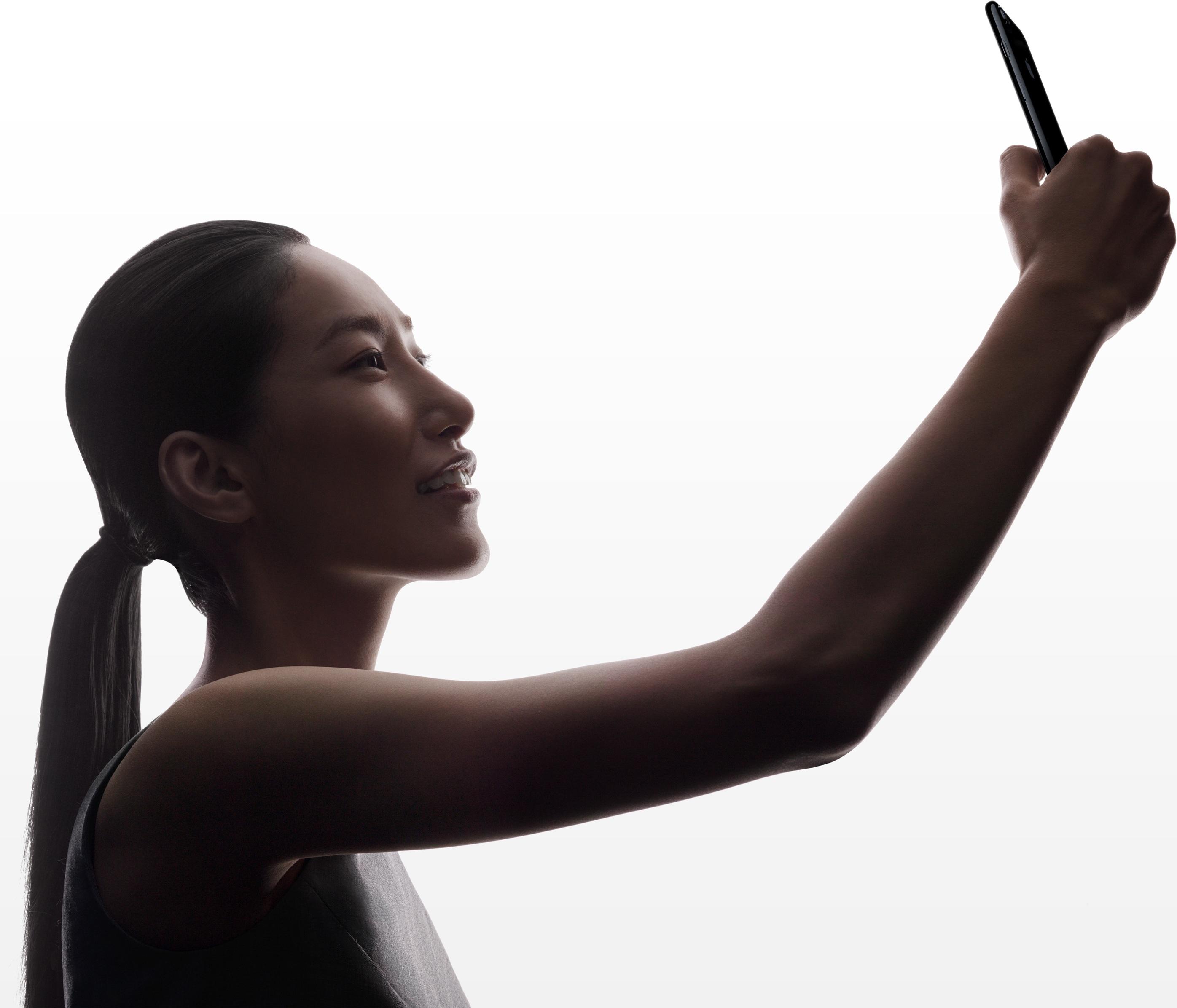 Câmera frontal dos iPhones 7 e 7 Plus