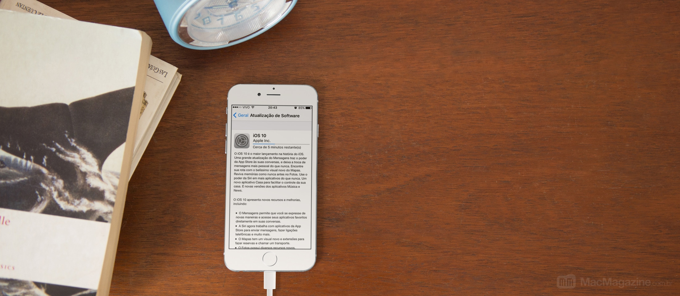Atualização para o iOS 10