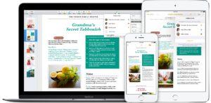 Colaboração em tempo real no Pages