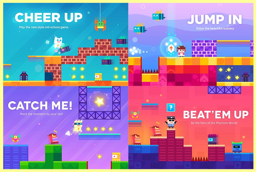 Jogo Super Phantom Cat para iOS