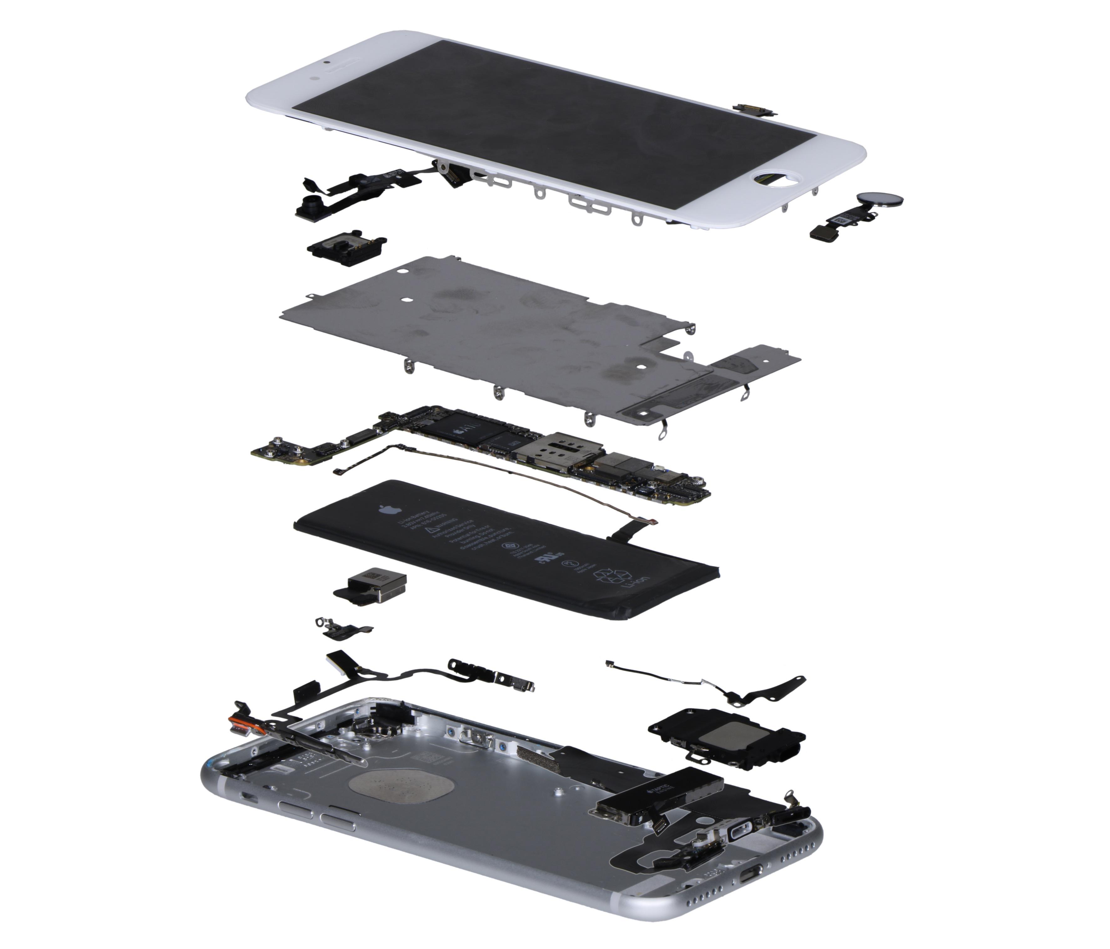 Componentes do iPhone 7