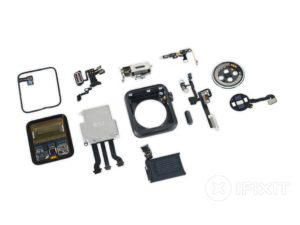 Apple Watch Series 2 desmontado pela iFixit