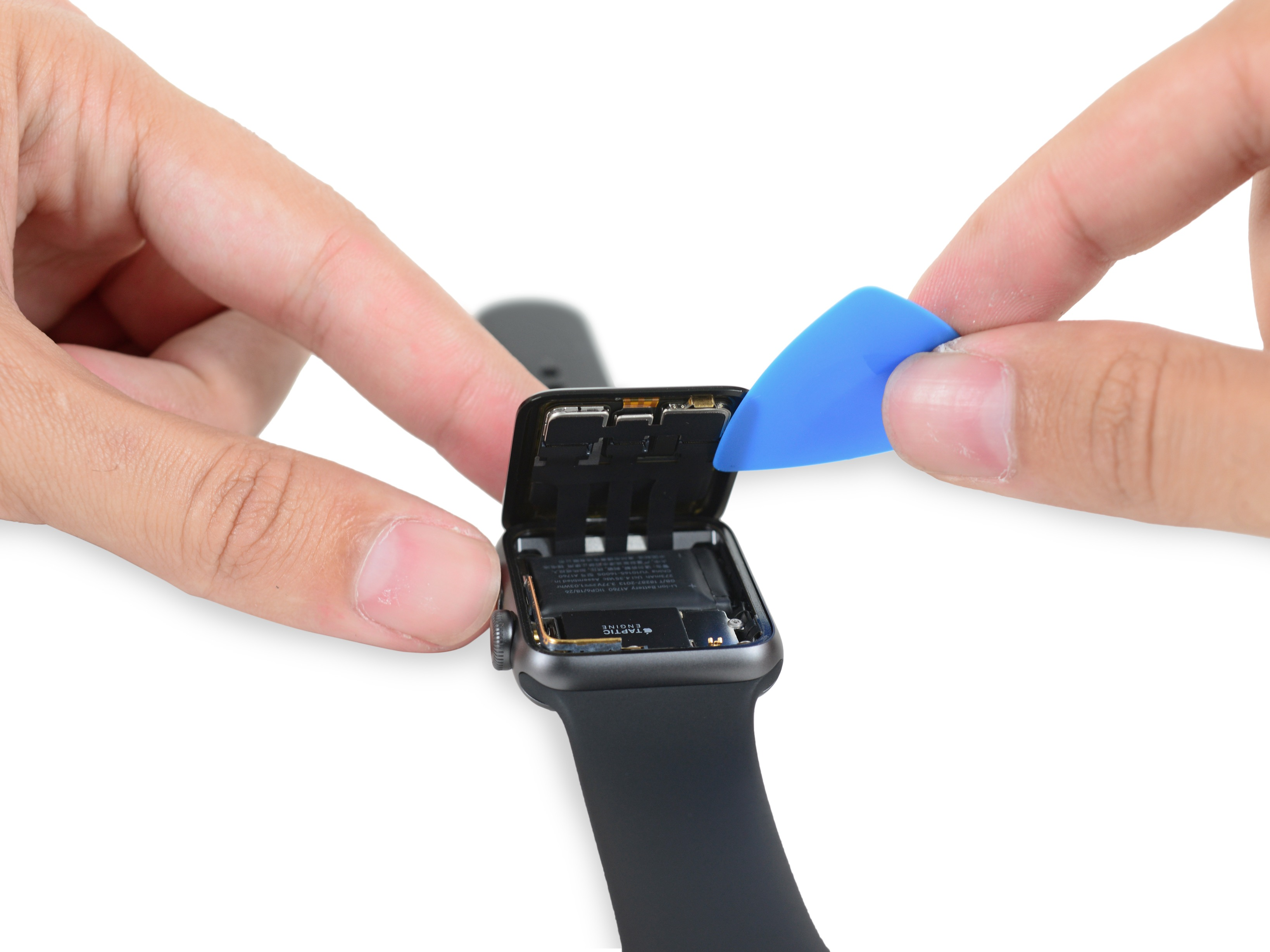 Apple Watch Series 2 desmontado pela iFixit