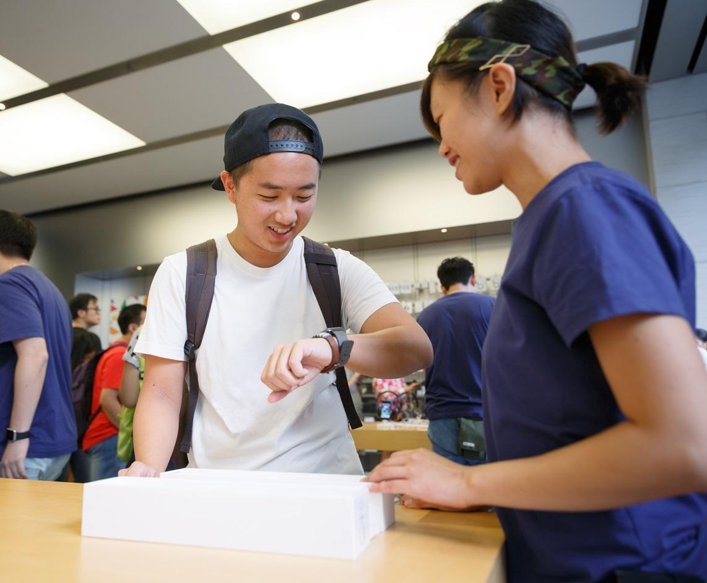 Lançamento do iPhone 7 e do Apple Watch Series 2