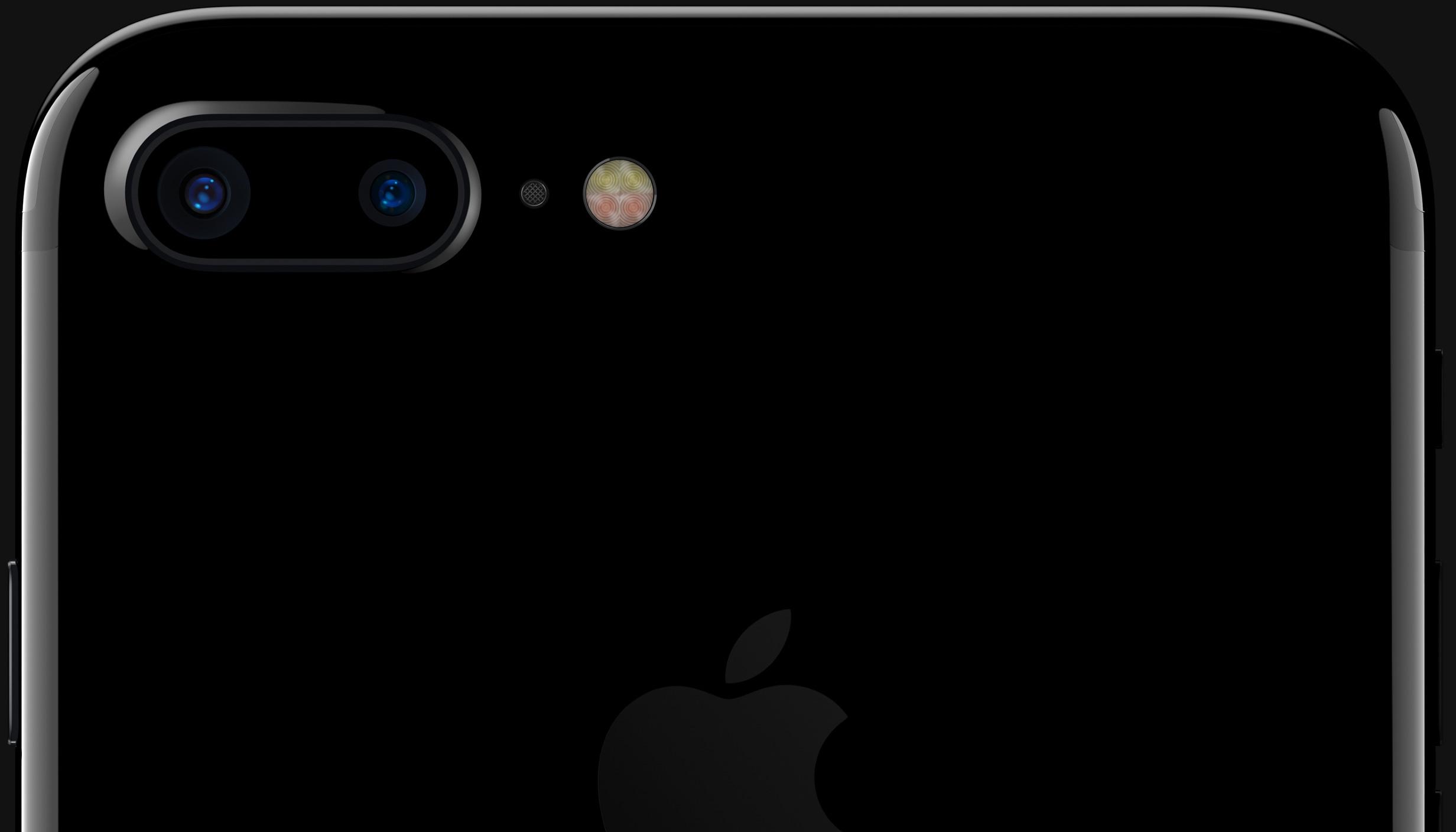 Câmera traseira do iPhone 7 Plus
