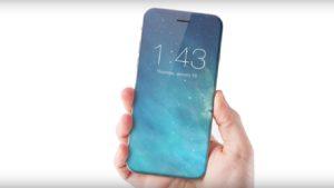 Conceito de iPhone sem botão de Início