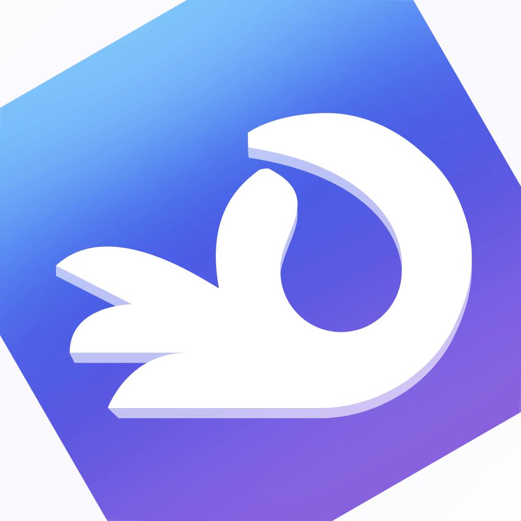 Ícone do app Flowing para iOS
