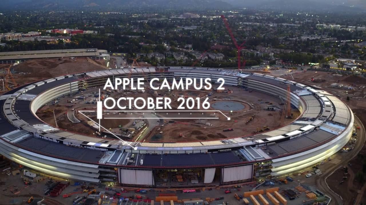 Obras do Apple Campus 2