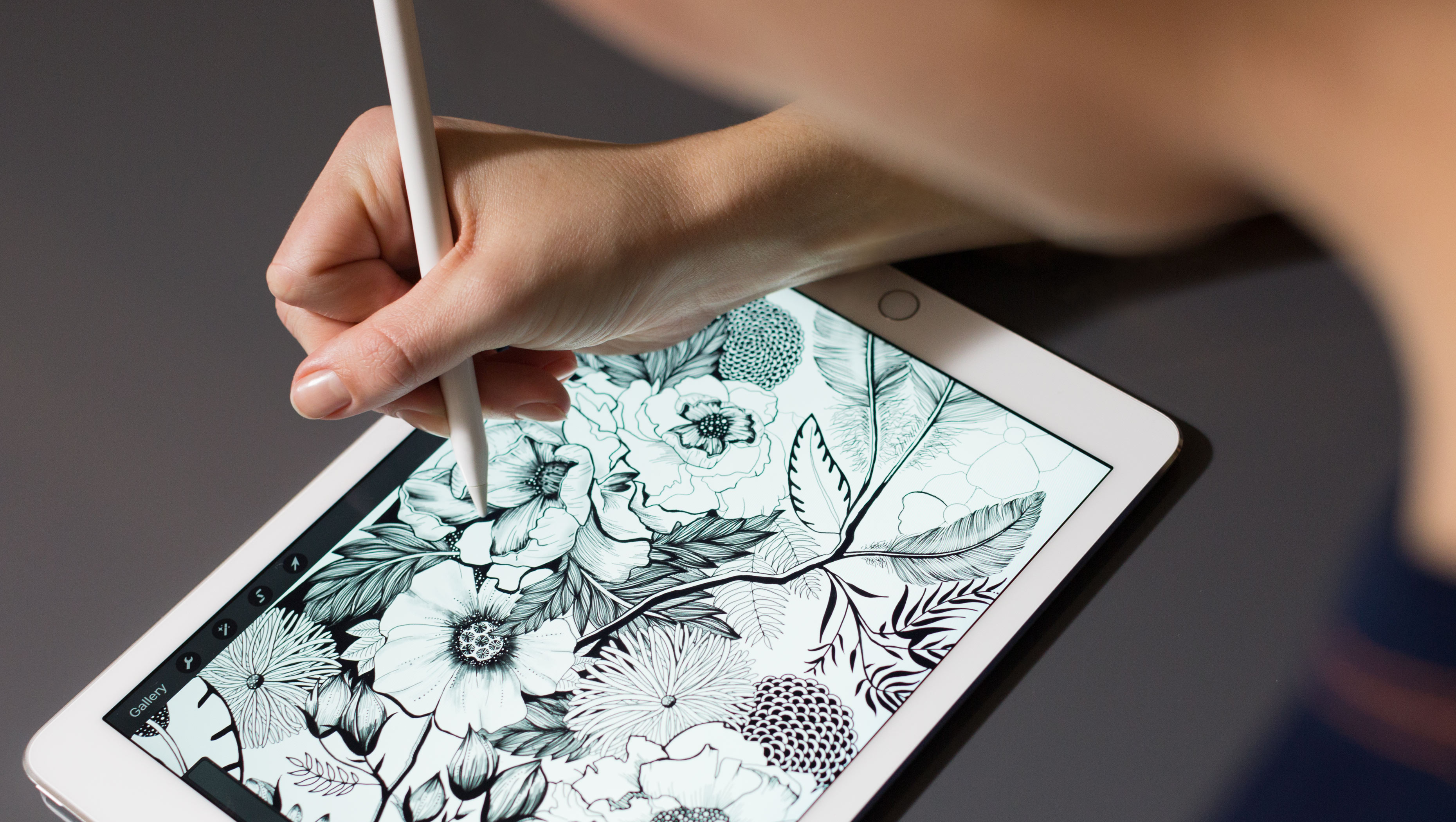 Apple Pencil e iPad Pro de 9,7 polegadas